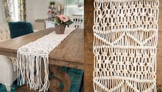 Make a Macrame Table