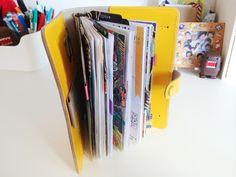 Yellow Filofax Original