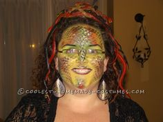 Cool and Creepy Homemade Medusa Costume... Coolest Homemade Costume Contest
