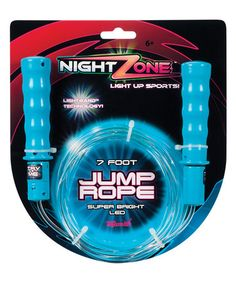 Another great find on #zulily! Night Zone Light-Up Jump Rope #zulilyfinds