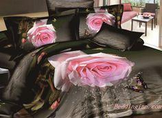 #3D #floralprint #rose #butterfly Tempting Pink Rose and Butterfly Print Cotton Duvet Cover Sets Buy link-->http://goo.gl/DjDZru Discover more-->http://goo.gl/JSGRLe Live a better life,start with @Beddinginn