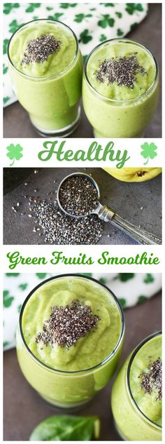 Healthy Green Fruits