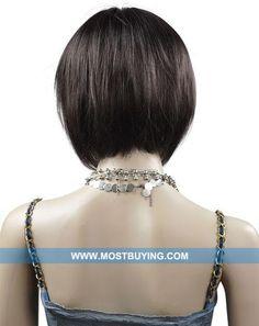 Bob haircut - back view