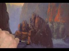 Jerry Yarnell #Art Video Sedona Canyon Part 7 | YarnellArt.com - YouTube