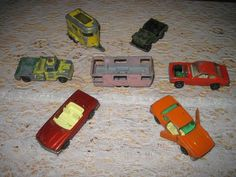 lesney tlc, vtg estat, superfast england, free ship, matchbox superfast, tlc requir, estat lot, requir free