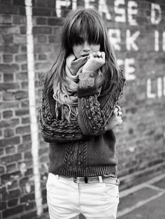 fashion, style, knit sweaters, maison scotch, scarves
