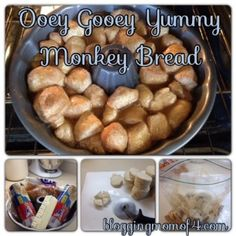 Easy Monkey Bread #Recipe So easy and yummy! You'll want to make it all the time!