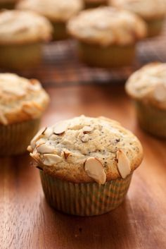 Cooking Classy: Almond Poppy Seed Muffins