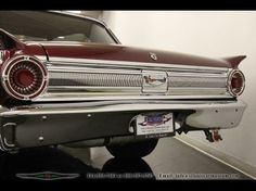 1963 Ford Fairlane, Burgundy