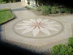 Concrete logos offer a beautiful way to spruce-up home entryways. Artistacrete Engraving Inc North Port, FL