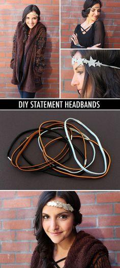 DIY statement headbands - Nx