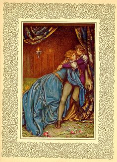 "Eleanor Fortescue-Brickdale (1872-1945), ""Lancelot and Guinevere"" from: Idylls of the King. London: Hodder and Stoughton, 1911"