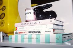 Cozy up to a sweet candle and some style focuses literature