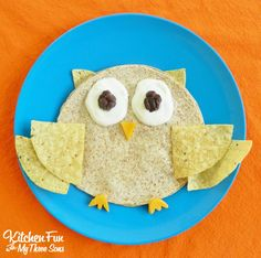 Owl Quesadilla for a