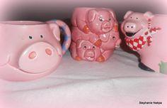 Pig mugs