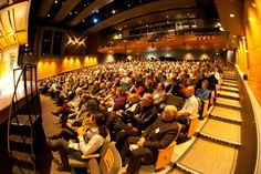 The 2013 Oregon Book Awards were held on the Main Stage at the Gerding Theater at the Armory. Photo by Portland Theatre Scene.