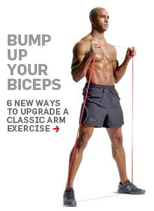 6 new ways to build your biceps.