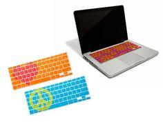 birthday, keyboard cover, technology, macbook, color keyboard, tech idea, design, appl devic, sticar 2pack