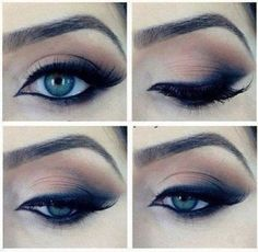 Brown eyeshadow. This is so pretty. Must recreate