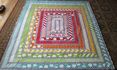easy charity quilt pattern and I really like how it looks.