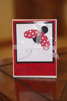 Lady Bug Card