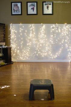 How to: Holiday Light Bokeh - Kristina McCaleb Photography
