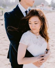 Taking a quiet moment together on the beach...      #beachwedding #outdoorwedding #sanfranciscoweddingphotographers #sfweddingphotography #citywedding #ido #weddingportraits #sfweddingportraits #sanfranciscoweddingportraits #theknot #smpweddings #brideandgroom