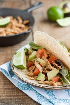 Quick Shredded Chicken for Tacos