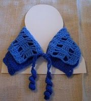 Blue and Blue Warming Collar free #crochet pattern
