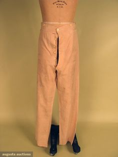 TROUSERS, MID 19th C.