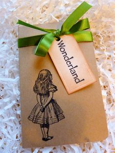 Journal thoughts, invitations, journals, teas, ribbons, parties, green, alice in wonderland, moleskine