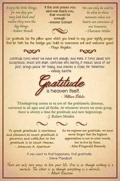 Gratitude Quotes Poster - Customizable - Etsy