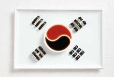 korean food flag I was born in South Korea Seoul . I love visit my family .