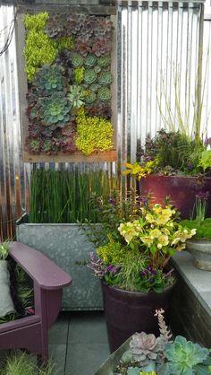 Succulent Vertical Garden art