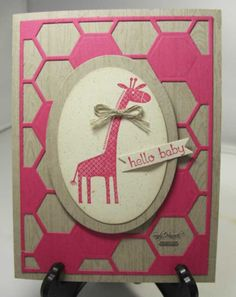 Zoo Babies with the hexagon Hive, Stampin' Up!,