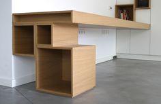 Bureau on pinterest reception desks desks and office spaces - Mobilier bureau ikea ...