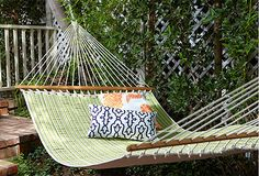 Beautiful hammock for the patio