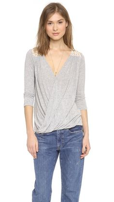 Ella Moss Taylor Top | selected by jamesdrygoods.com for the made in america: contemporary project | #madeinusa |