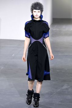 Gothic Couture: The Cyber Look from Junya Watanabe Spring 2013 RTW. Via Style.com