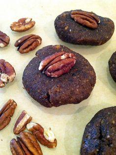 No-Bake Pumpkin Pecan Cookies