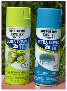 Painting Plastic Chairs On Pinterest Patio Furniture Makeover Recover Patio Cushions And