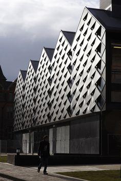 Heating infrastructure building, Levitt Bernstein Associates.