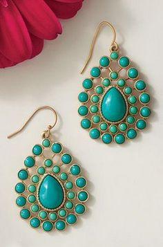 turquoise wedding earrings?