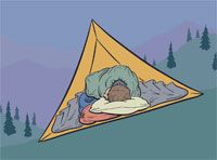 How to sleep well on the trail
