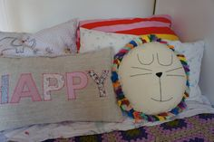 Lion Pillow Decorative Pillow Animal pillow kid by diasdelana
