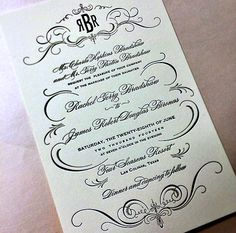 Rachel + Rob Fairytale Wedding Invitations at @fsdallas | @southernpaper | @FSBridal
