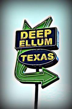 Awww, good ol' Deep Ellum,