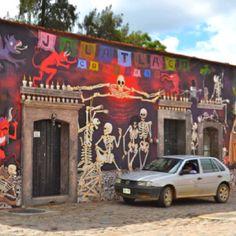 Oaxaca Mexico - community arts centre
