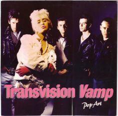 Transvision Vamp. Pop Art. 1988.