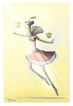 """""""Floats Like A Bird"""" by Bayu Sadewo"""